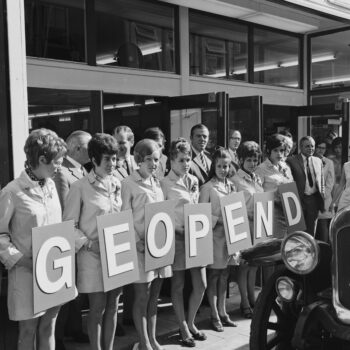 V&D geopend, collectie Dolf Henneke